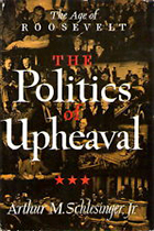 The Politics of Upheaval: The Age of Roosevelt by Arthur M. Schlesinger, Jr., book cover