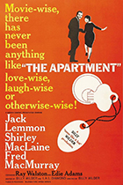 The Apartment movie poster