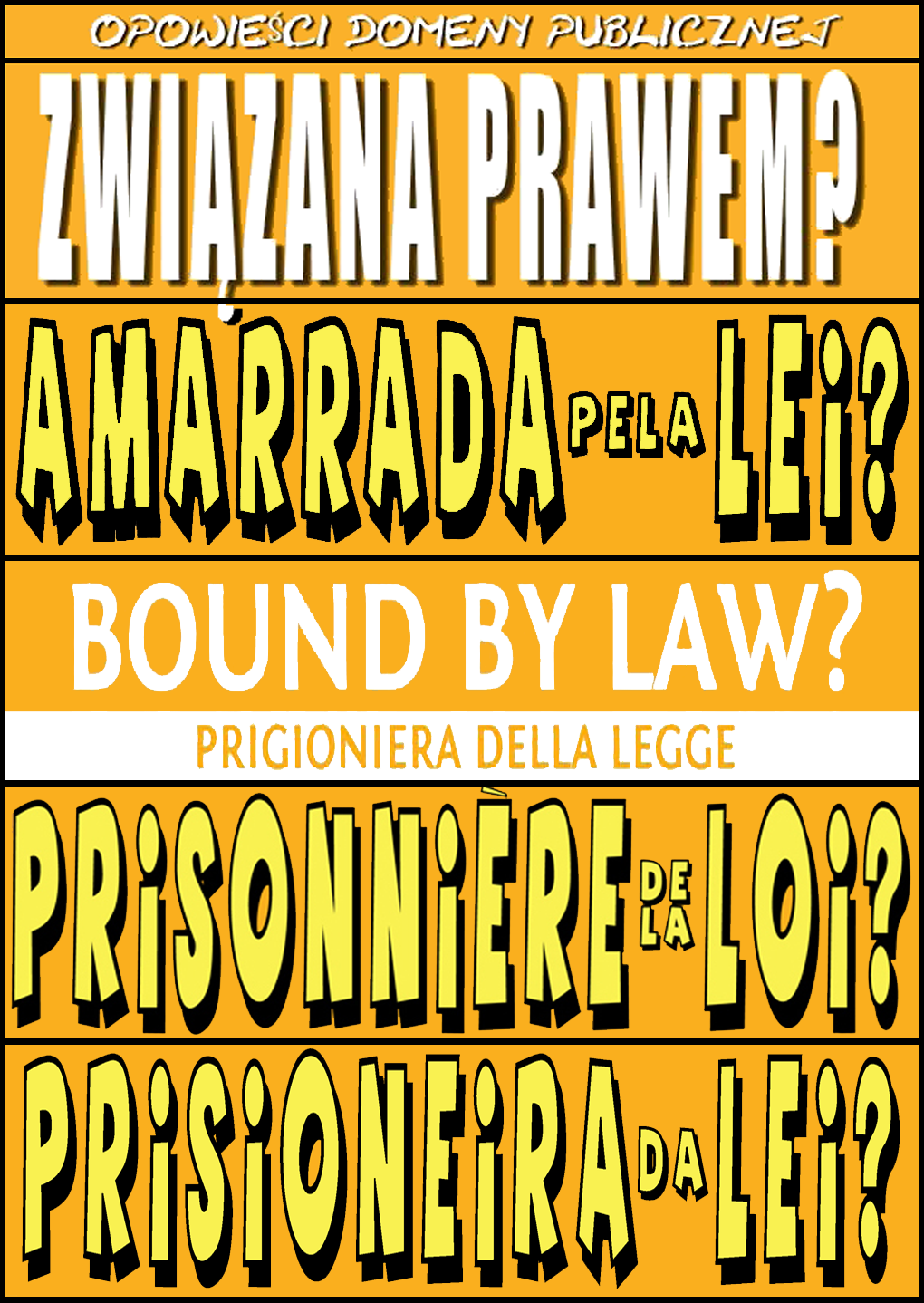 Bound By Law? Translation Covers