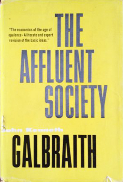 The Affluent Society book cover