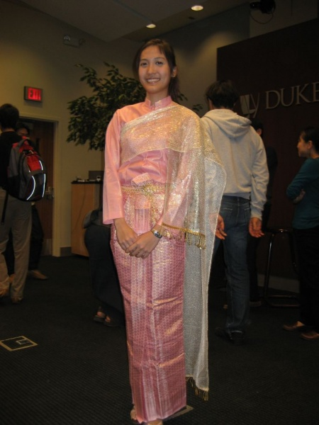 2008 International Week - Fashion Show: Beautiful Thai costume