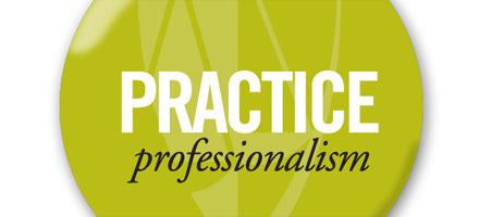 PRACTICE professionalism