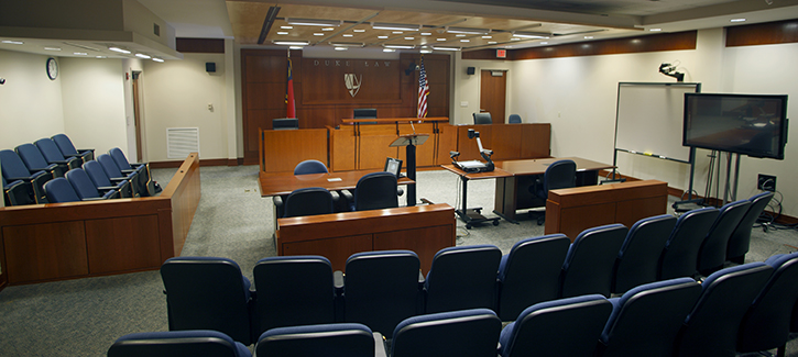 Moot courtroom
