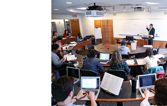 Image of Dual Degree students in a classroom