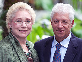 Candace Carroll '74 and Leonard Simon '73