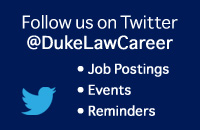 Follow @DukeLawCareer on Twitter