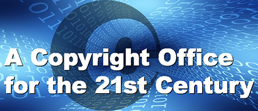 A Copyright Office for the 21st Century Logo