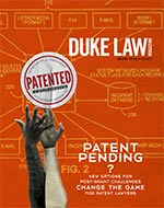 Cover of Duke Law Magazine, Fall 2015