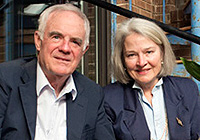Professor Bill Reppy Jr. and Juliann Tenney '69