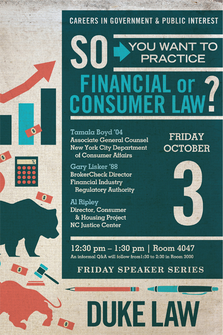 So You Want To Work In Financial or Consumer Law?