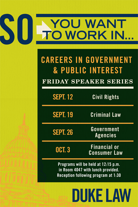 Public Interest Speaker Series
