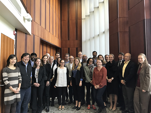 Photo of attendees of the Duke-Yale Foreign Relations Law Roundtable at Duke Law School