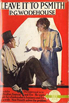 P.G. Wodehouse, works including Leave It to Psmith book cover