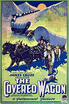 'The Covered Wagon,' directed by James Cruze movie poster