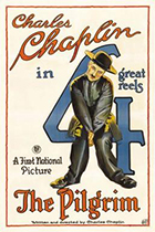'The Pilgrim,' directed by Charlie Chaplin movie poster