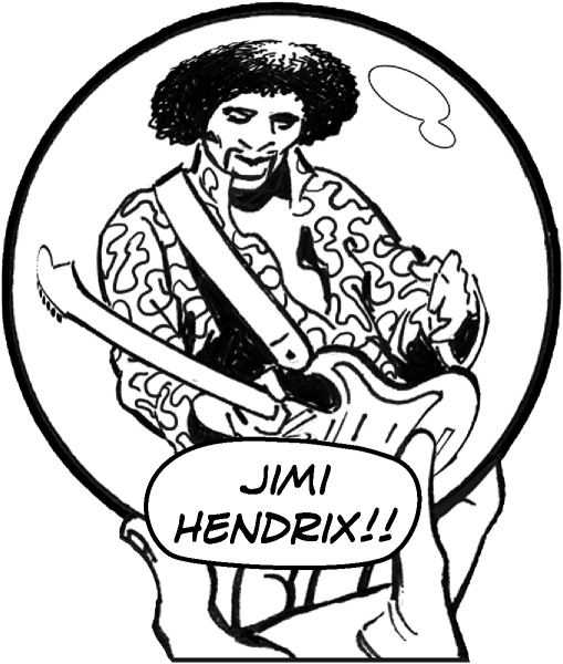 Jimi Hendrix playing The Star-Spangled Banner