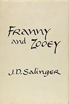 Franny and Zooey by J.D. Salinger book cover