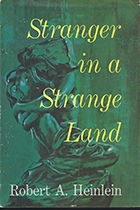 Stranger in a Strange Land by Robert A. Heinlein book cover