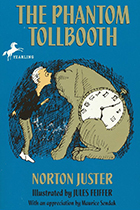 The Phantom Tollbooth by Norton Juster book cover