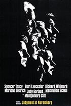 Judgment at Nuremberg movie poster