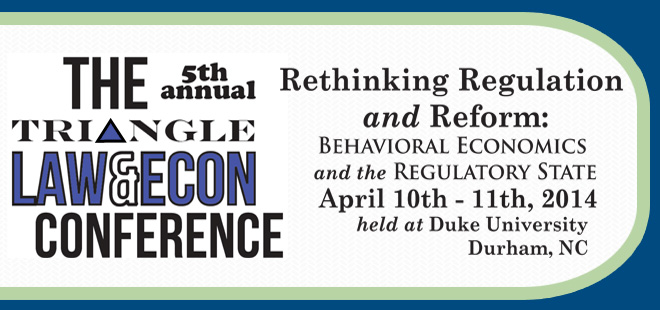 Fifth Annual Triangle Law & Economics Conference