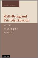 Well-Being and Fair Distribution book cover