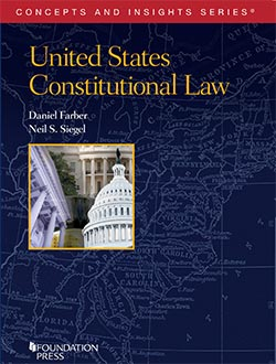 Book cover for United States Constitutional Law by Daniel Farber and Neil Siegel