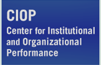 Center for Institutional and Organizational Performance logo