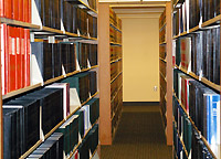 The Law Library stacks and collections