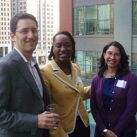 Alumni at a Chicago Club event