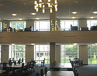 Windows in the Law Library reading room
