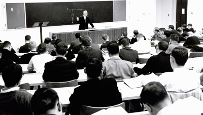 Latty's classroom in 1963