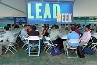 LEAD Week lunch