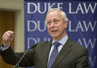 Duke University President Richard H. Brodhead