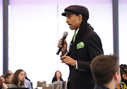Mustafa Santiago Ali at Duke University's environmental justice symposium