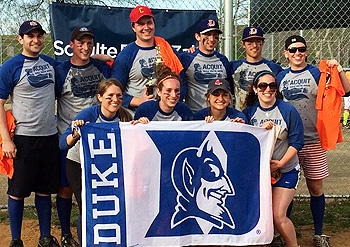 Duke Diamond softball team