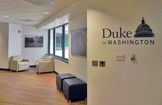 Photo of Duke University office in D.C.