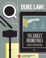 Duke Law Magazine, Fall 2013 cover
