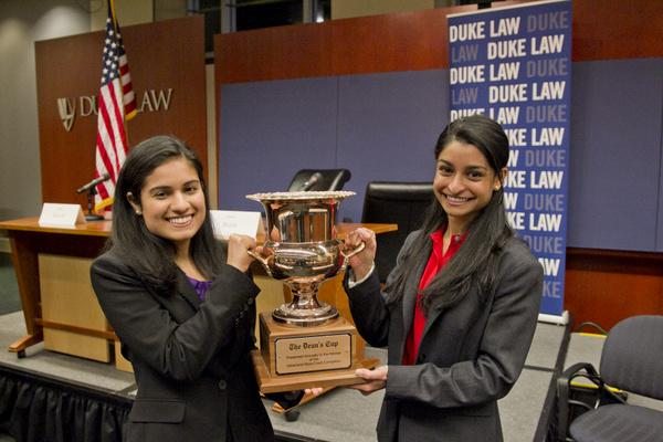 Shifali Baliga '14 and Nina Gupta '14