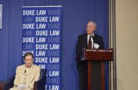 Justice Ruth Bader Ginsburg at Duke Law's D.C. Institute, July 10, 2013