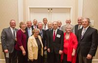 Reunion 2015 photo of members from the Class of 1970