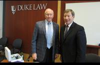 Former Chairman of the Joint Chiefs of Staff General Martin Dempsey spoke at the Law School on February 19th as part of the LENS Speaker Series