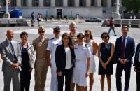 On June 13th Ms. Shannon Welch '17 took her commissioning oath to become LTJG Shannon Welch, US Navy.