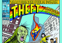 Cover of comic book, Tales from the Public Domain