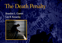 Cover of book, The Death Penalty: Concepts and Insights