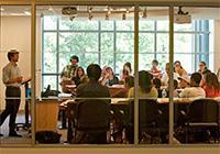 Duke Law classroom