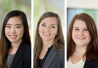 Duke Law students Kelly Hamachi, Jami King, and Meredith Stewart