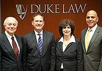 Neil Asks panelists U.S. Supreme Court Justice Samuel A. Alito Jr., Israel Supreme Court Justice Daphne Barak-Erez, and Wallace B. Jefferson, former chief justice of the Supreme Court of Texas.