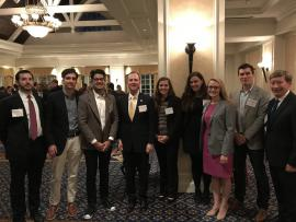 On Oct. 30th Duke Law students dined with Rep. Adam Schiff, the Ranking Member of the House Permanent Select Committee on Intelligence.