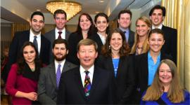 11 students attended the 25th Annual Review of the Field of National Security Law CLE Conference in Washington DC with Professor Charlie Dunlap and Joy Dunlap.